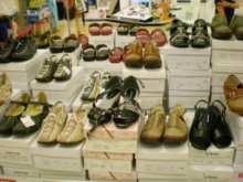 7月の催事(靴)