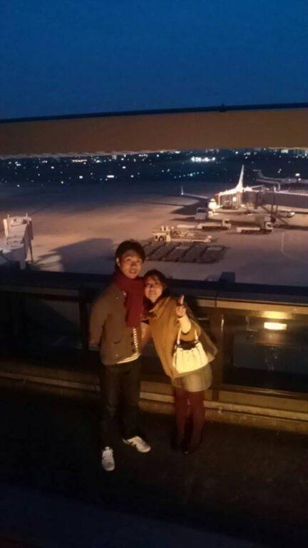 「初心者マーク@旦那」で伊丹空港