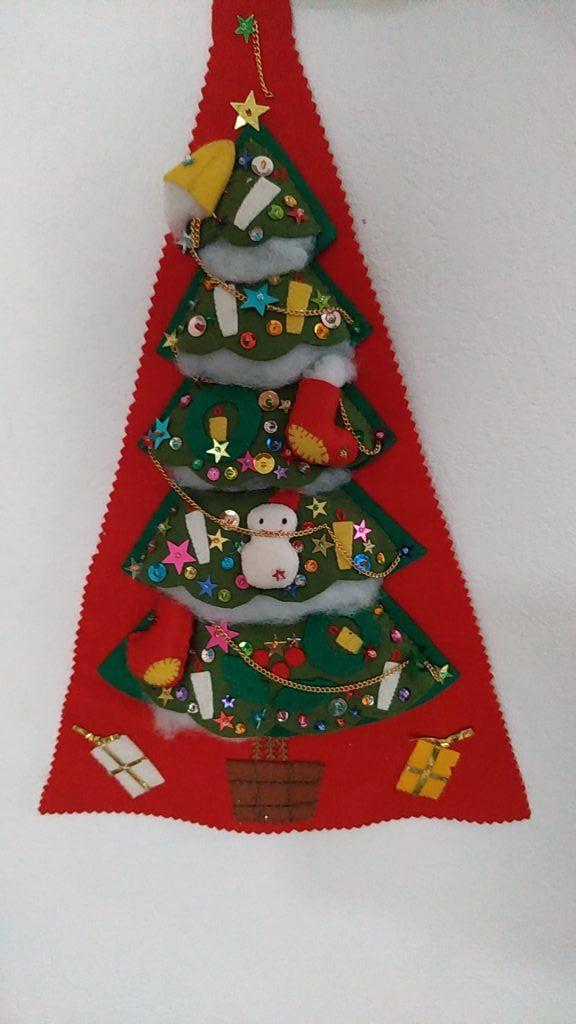 クリスマス手作りツリー